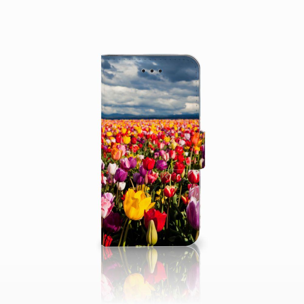 Apple iPhone X | Xs Uniek Boekhoesje Tulpen