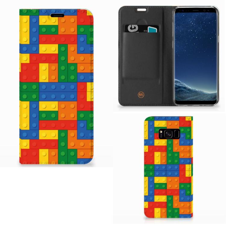 Samsung Galaxy S8 Plus Uniek Hoesje Blokken
