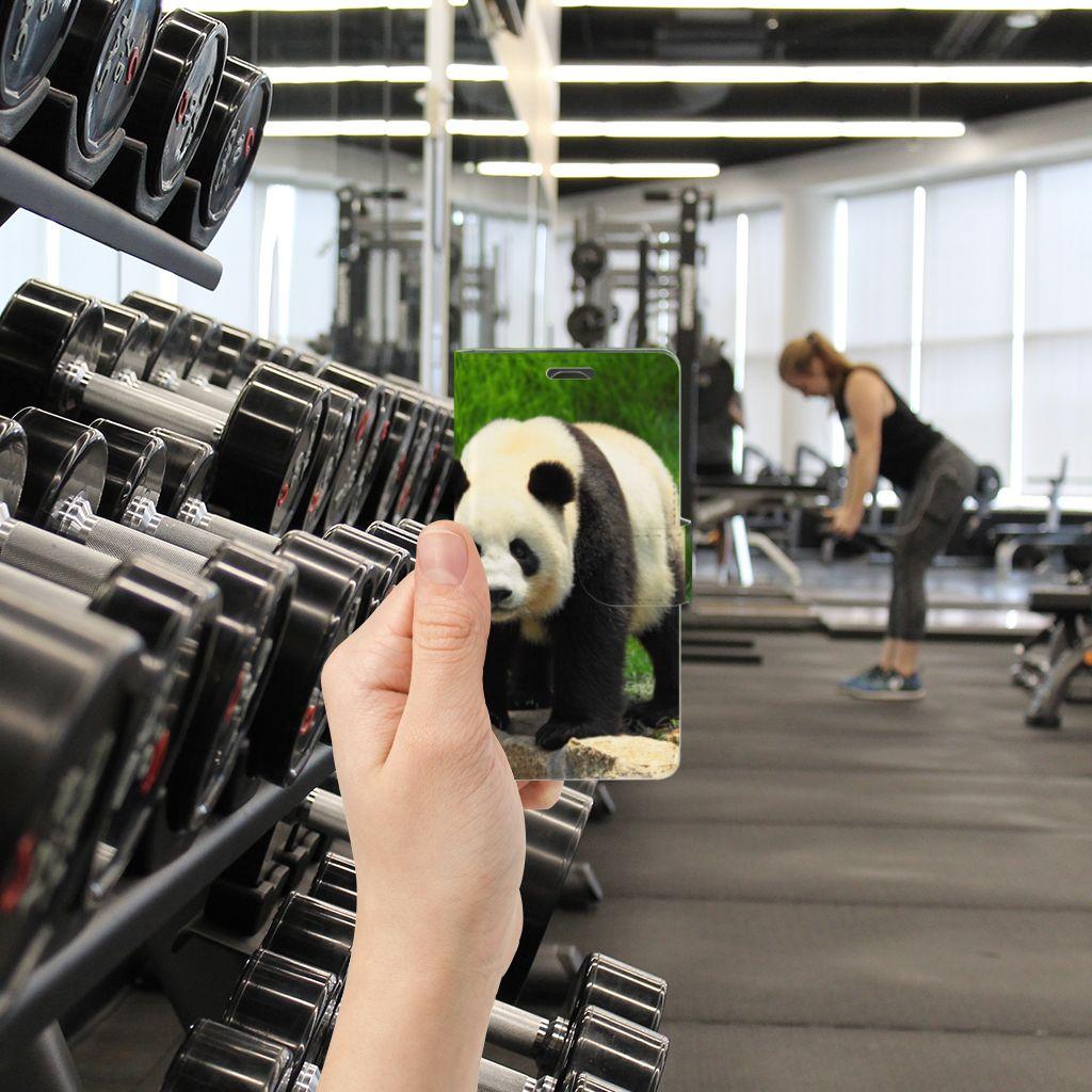 LG Magna | G4C Telefoonhoesje met Pasjes Panda