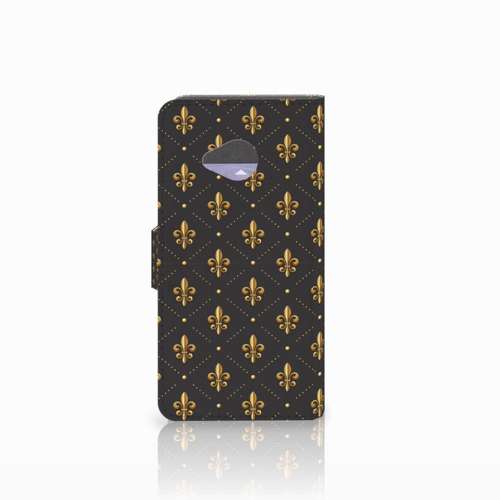 HTC U11 Life Telefoon Hoesje Franse Lelie