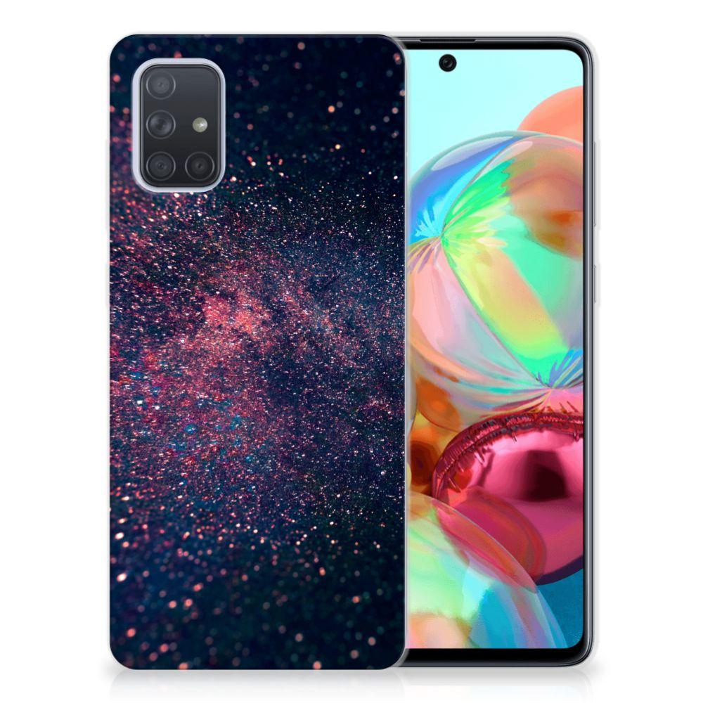 Samsung Galaxy A71 TPU Hoesje Stars