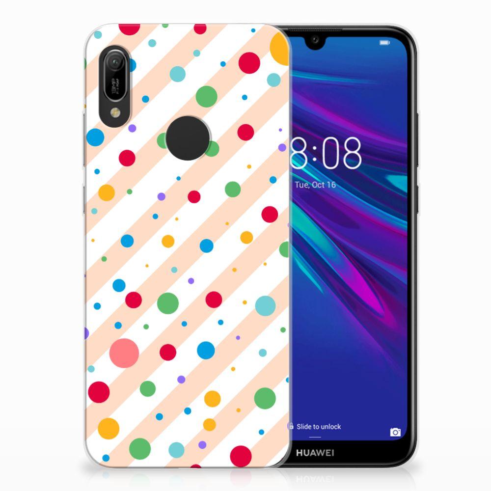 Huawei Y6 2019 | Y6 Pro 2019 TPU Hoesje Design Dots
