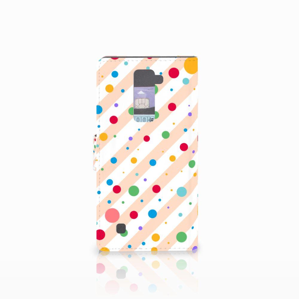 LG K10 2015 Telefoon Hoesje Dots