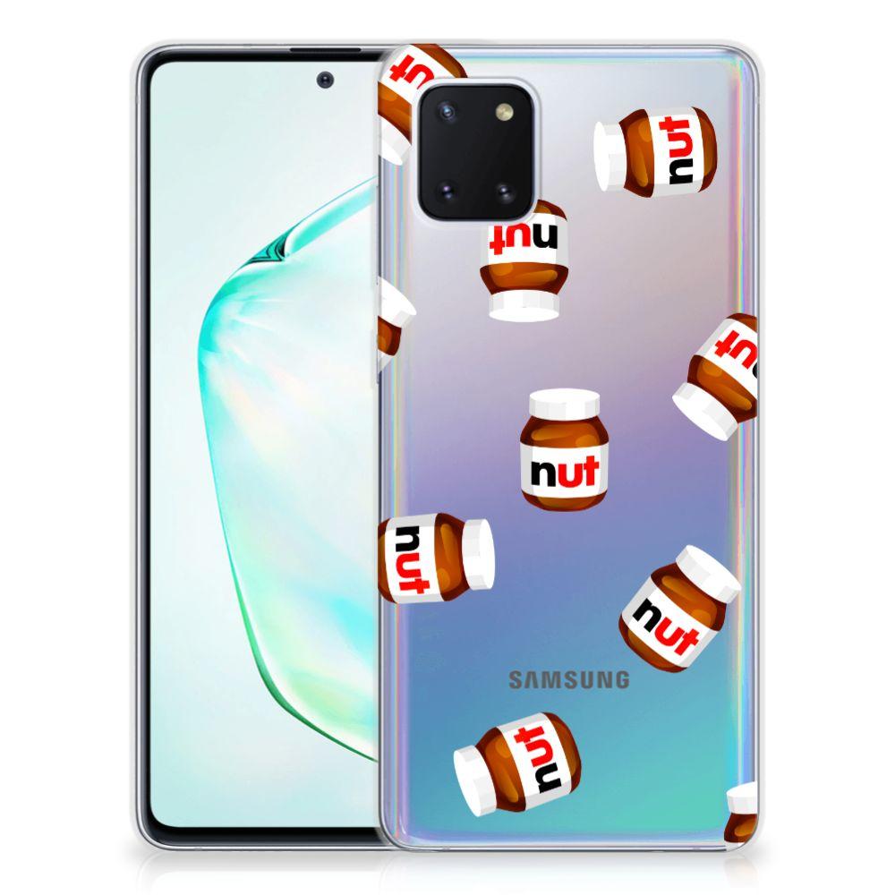 Samsung Galaxy Note 10 Lite Siliconen Case Nut Jar