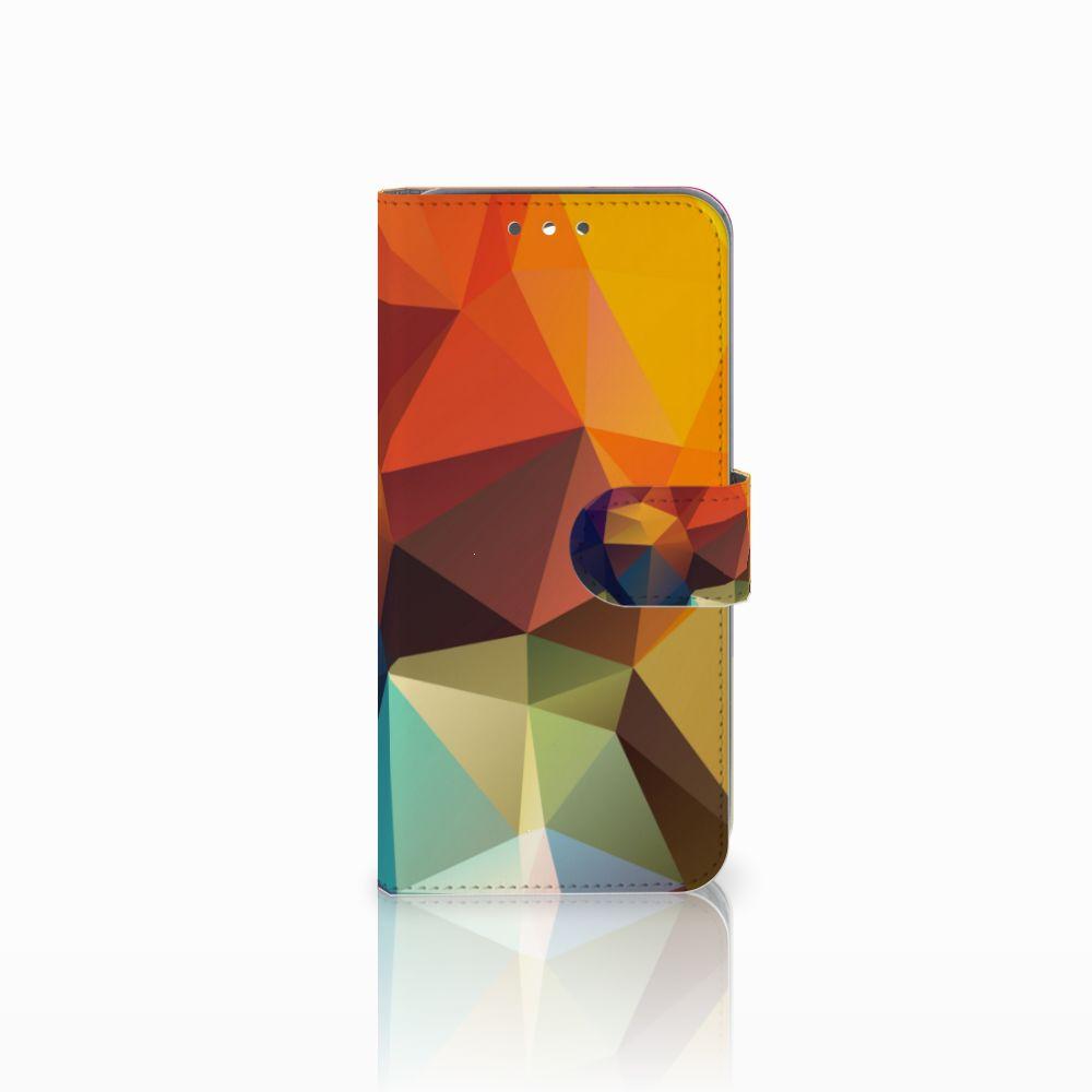 Wiko Wim Boekhoesje Design Polygon Color