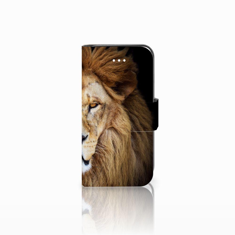 Apple iPhone 5 | 5s | SE Boekhoesje Design Leeuw