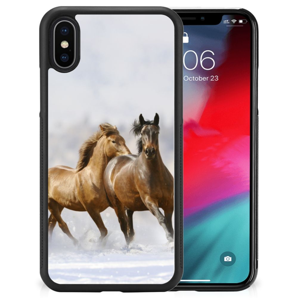 Apple iPhone Xs | X/10 Back Cover Paarden