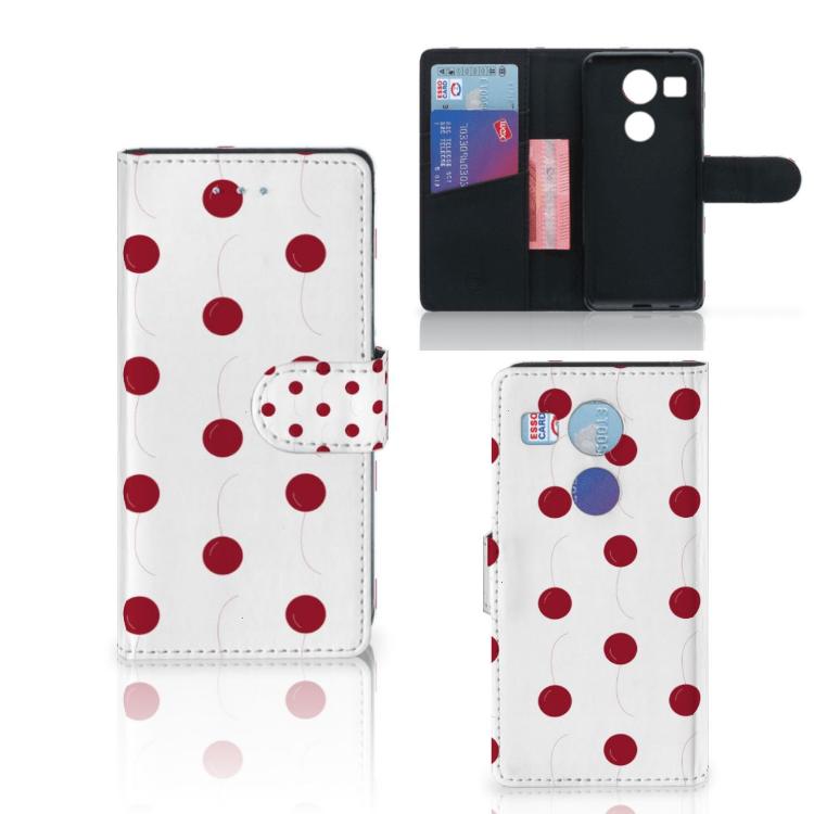 LG Nexus 5X Book Cover Cherries