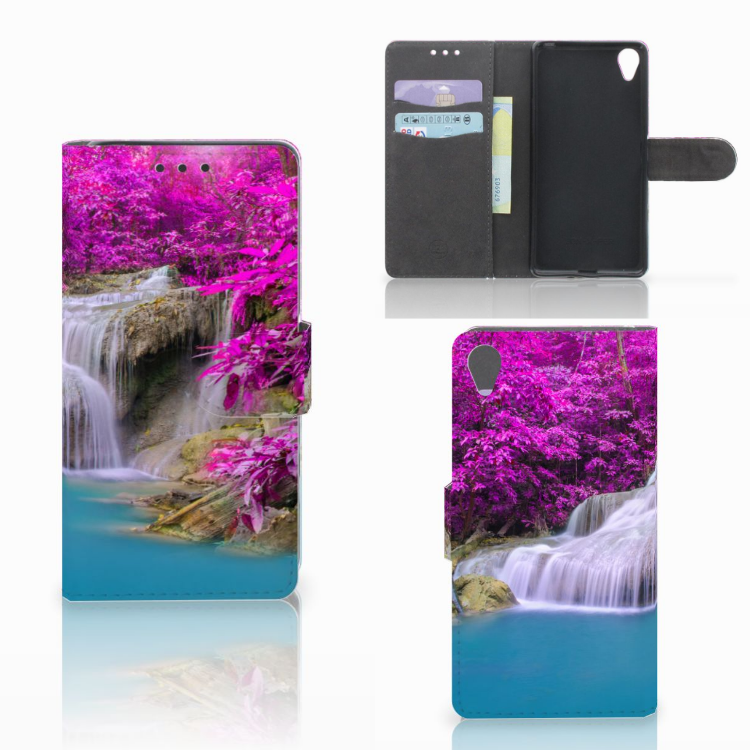 Sony Xperia X Flip Cover Waterval