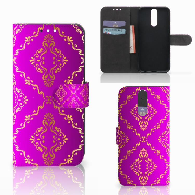 Wallet Case Huawei Mate 10 Lite Barok Roze