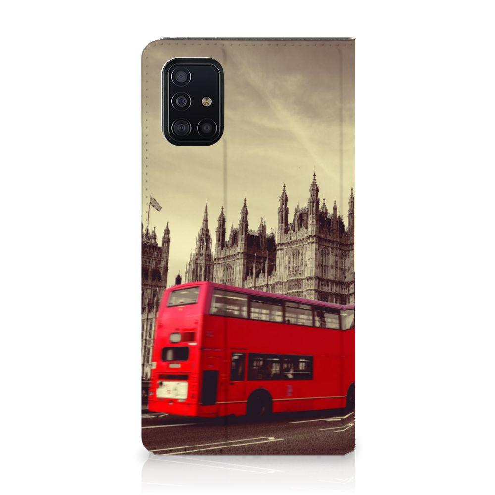 Samsung Galaxy A51 Book Cover Londen