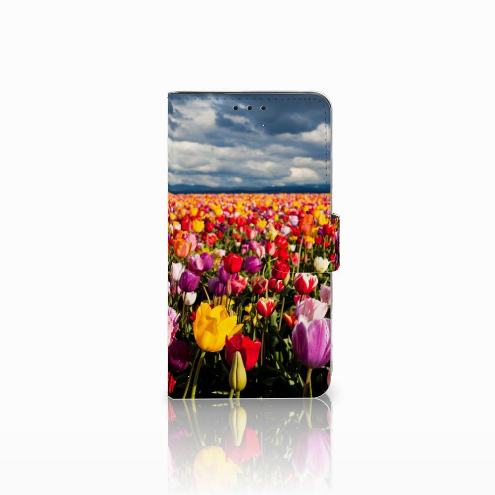 Huawei Honor 6X Uniek Boekhoesje Tulpen