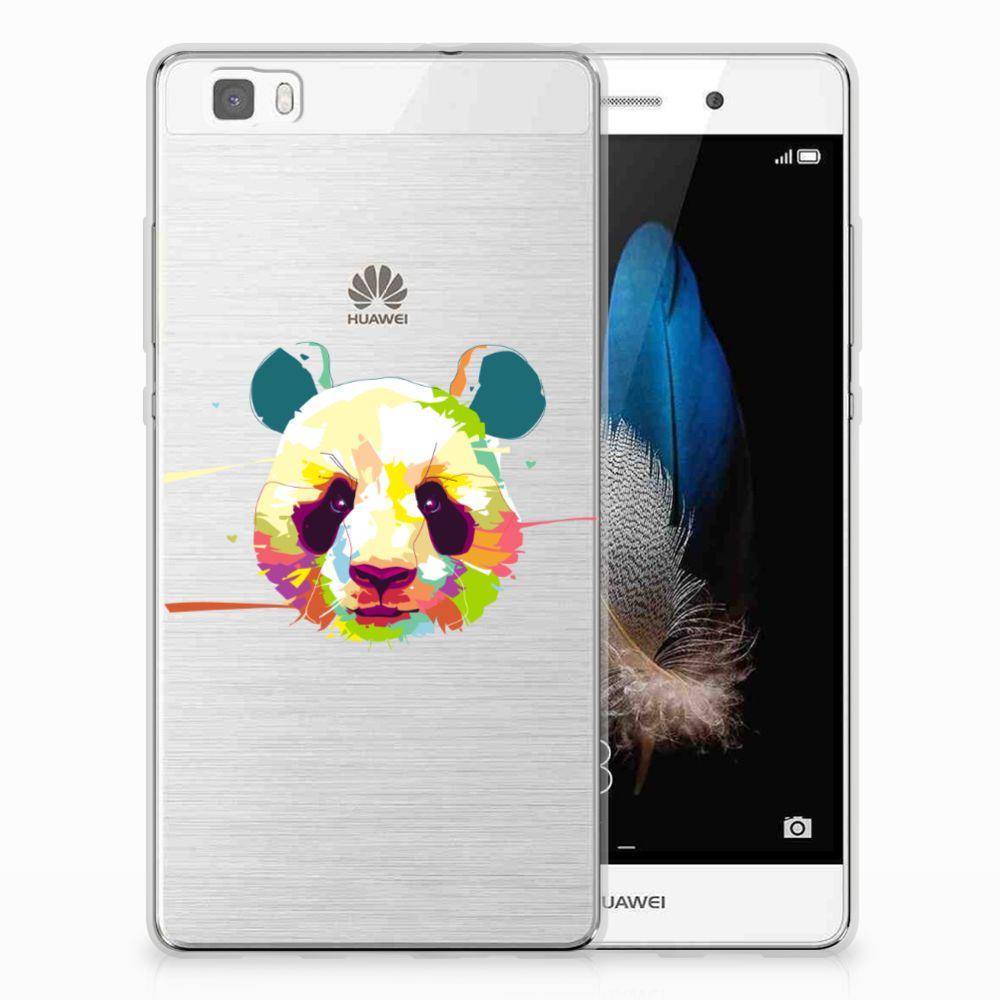 Huawei Ascend P8 Lite TPU Hoesje Design Panda Color