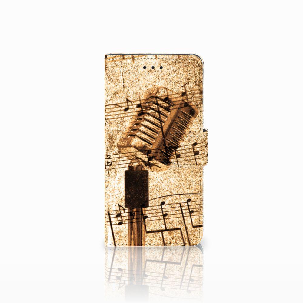 Huawei Y5 2018 Uniek Boekhoesje Bladmuziek