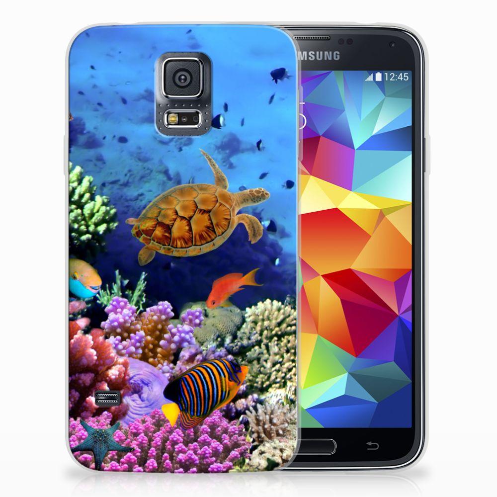 Samsung Galaxy S5 TPU Hoesje Vissen