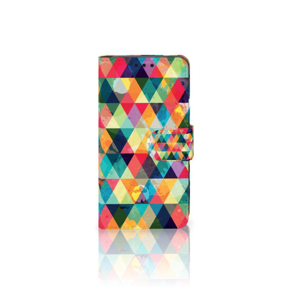 LG X Style Uniek Boekhoesje Geruit