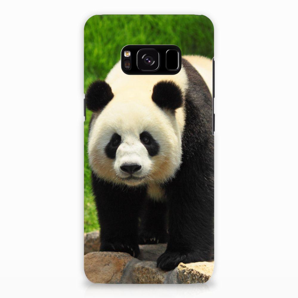 Samsung Galaxy S8 Hardcase Hoesje Design Panda