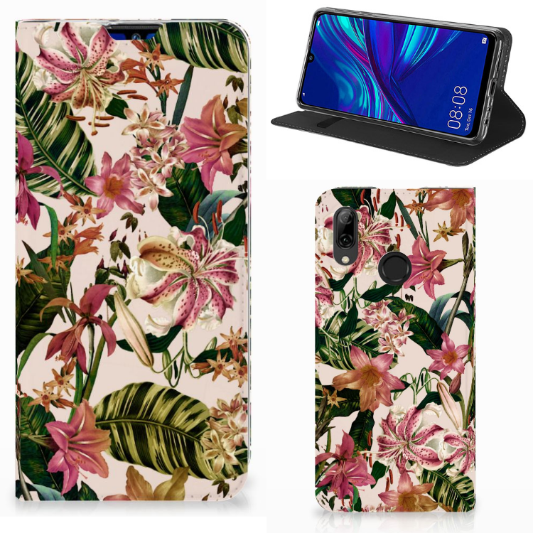 Huawei P Smart (2019) Smart Cover Flowers