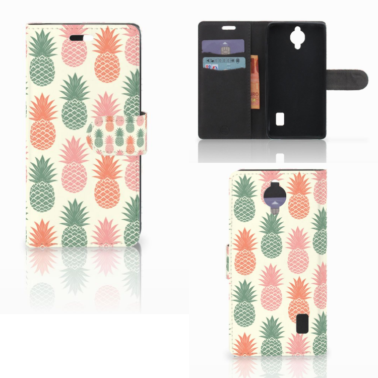 Huawei Y635 Book Cover Ananas