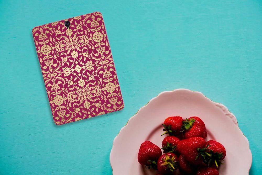 TPU Case Samsung Galaxy Tab S3 9.7 Barok Pink