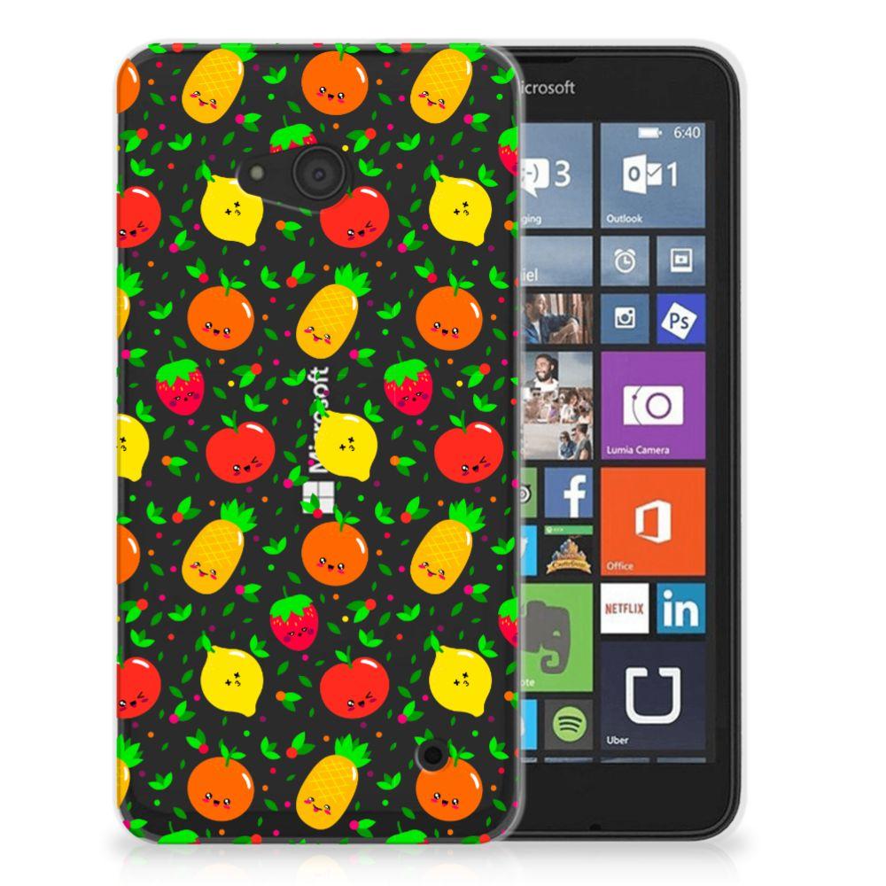 Microsoft Lumia 640 Siliconen Case Fruits
