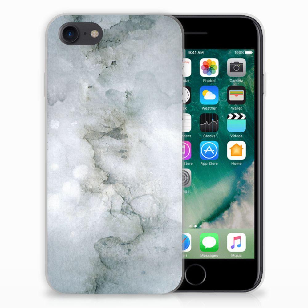 Hoesje maken Apple iPhone 7 | 8 Painting Grey