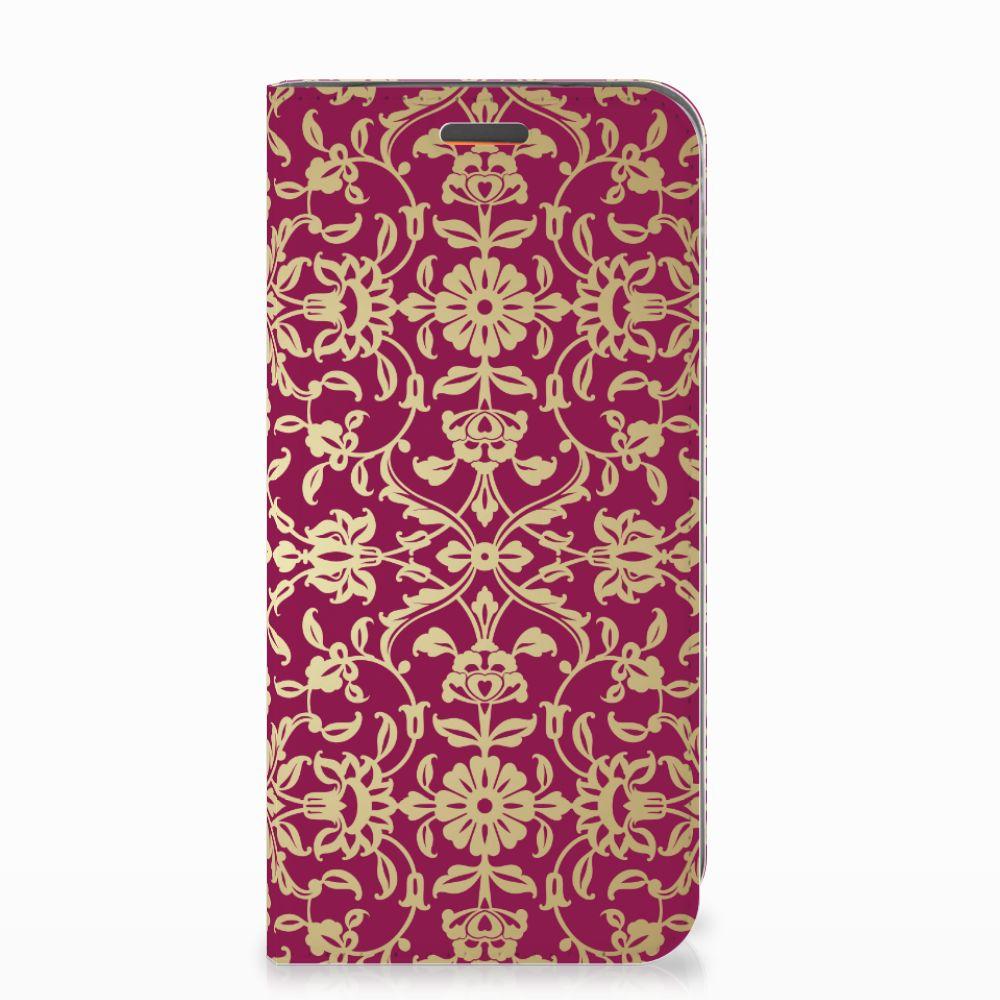 Telefoon Hoesje Motorola Moto E5 Play Barok Pink