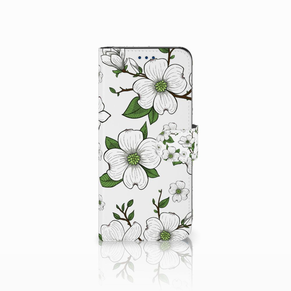 Samsung Galaxy S8 Boekhoesje Design Dogwood Flowers