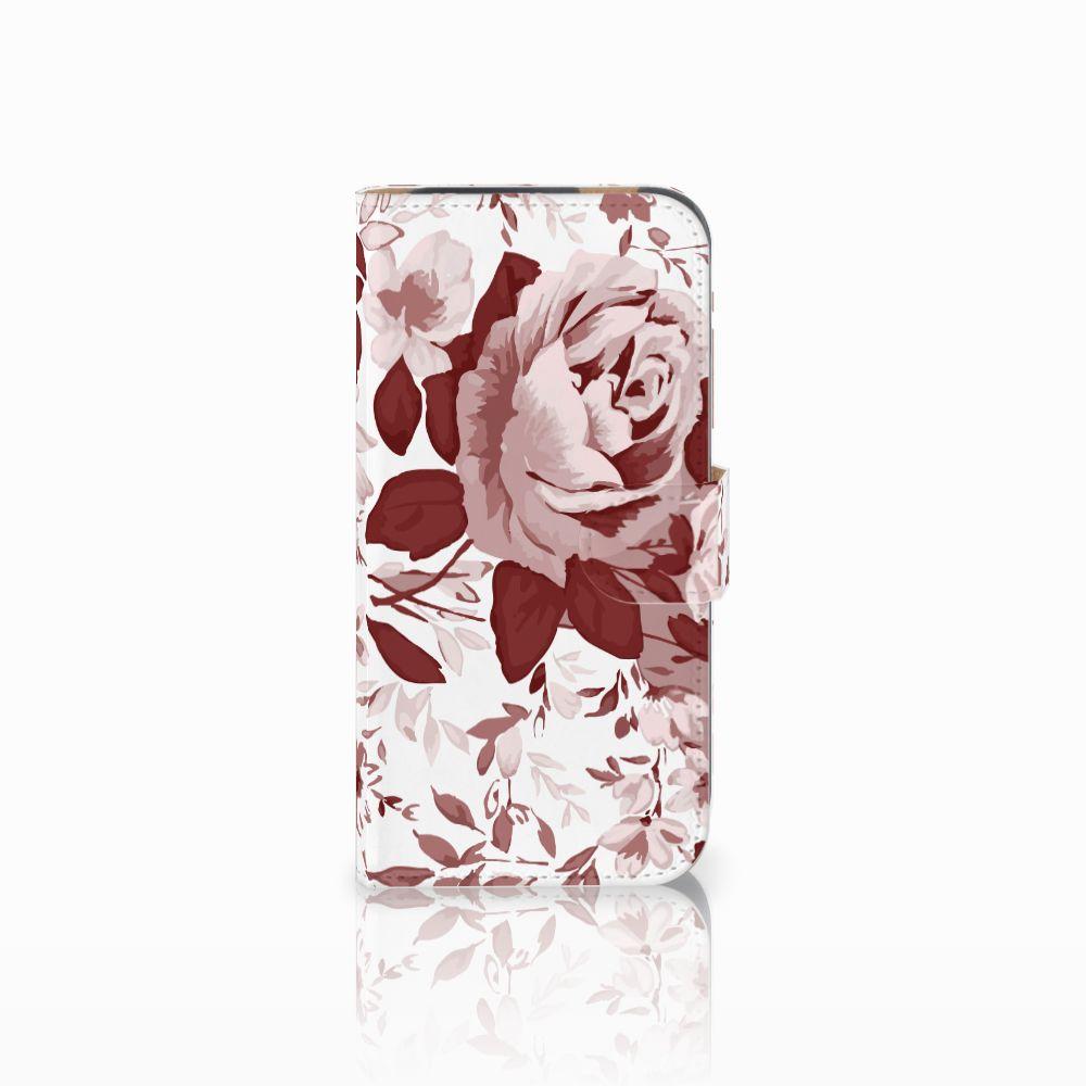 Hoesje HTC One M8 Watercolor Flowers
