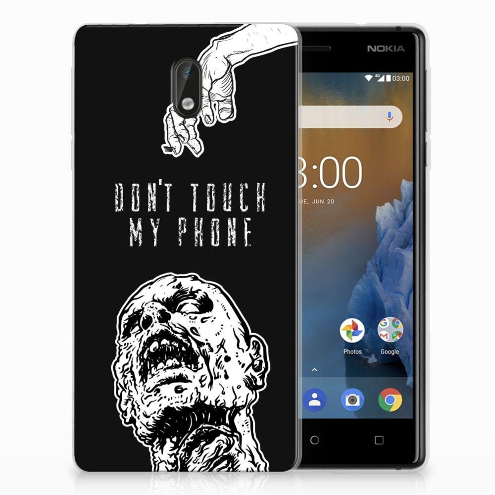Nokia 3 Uniek TPU Hoesje Zombie