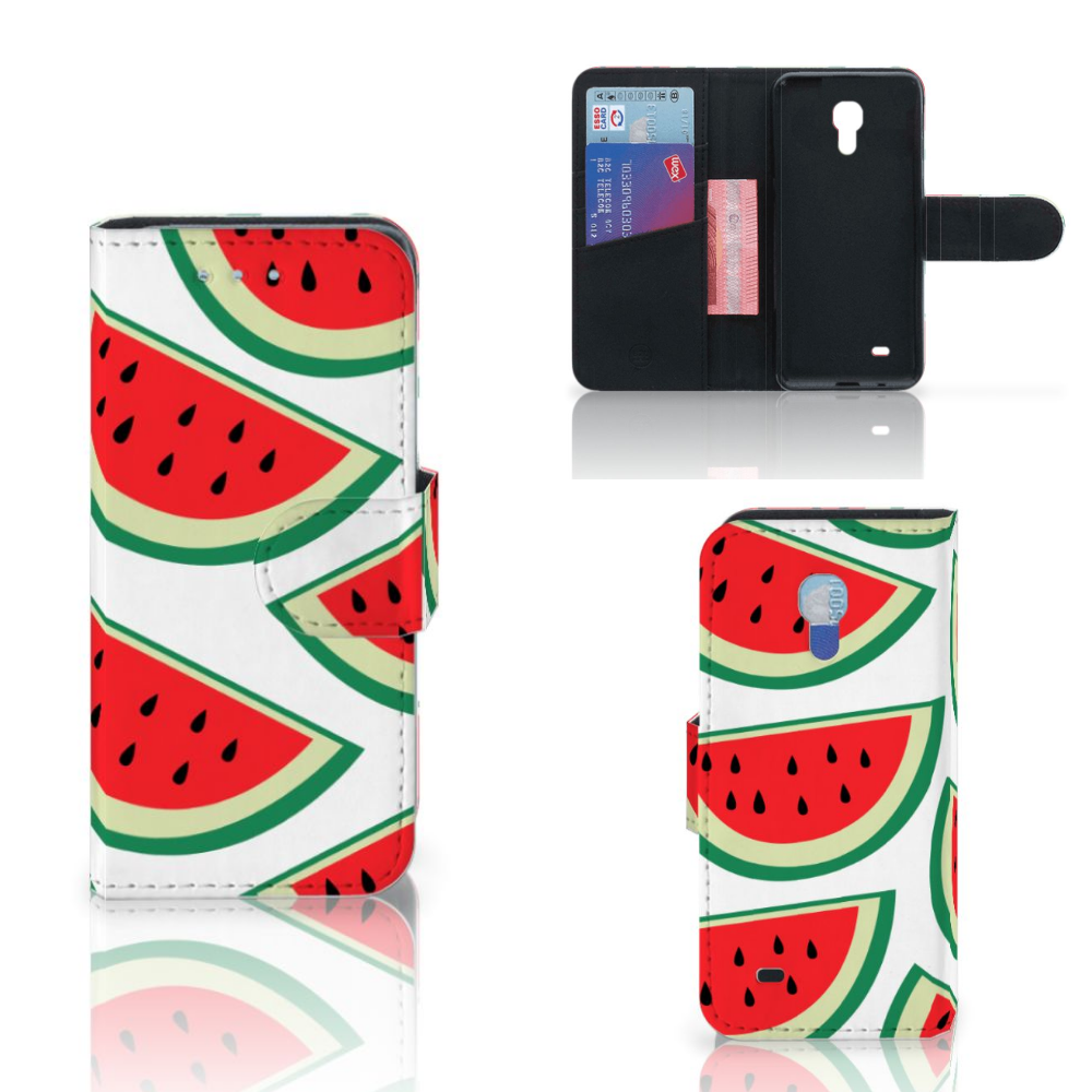 Samsung Galaxy S4 Mini i9190 Book Cover Watermelons