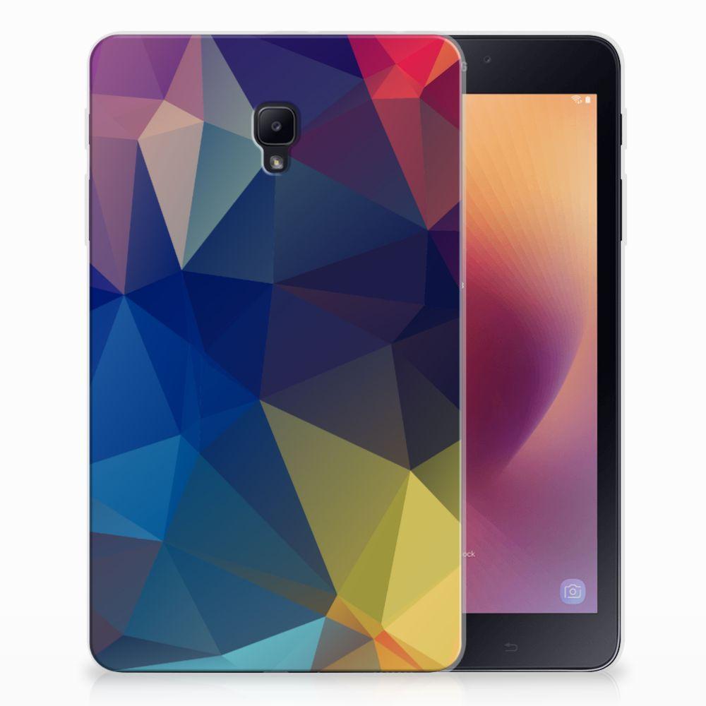 Samsung Galaxy Tab A 8.0 (2017) Back Cover Polygon Dark