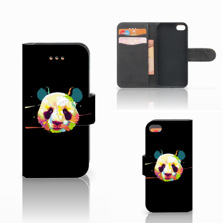 Apple iPhone 5C Leuke Hoesje Panda Color
