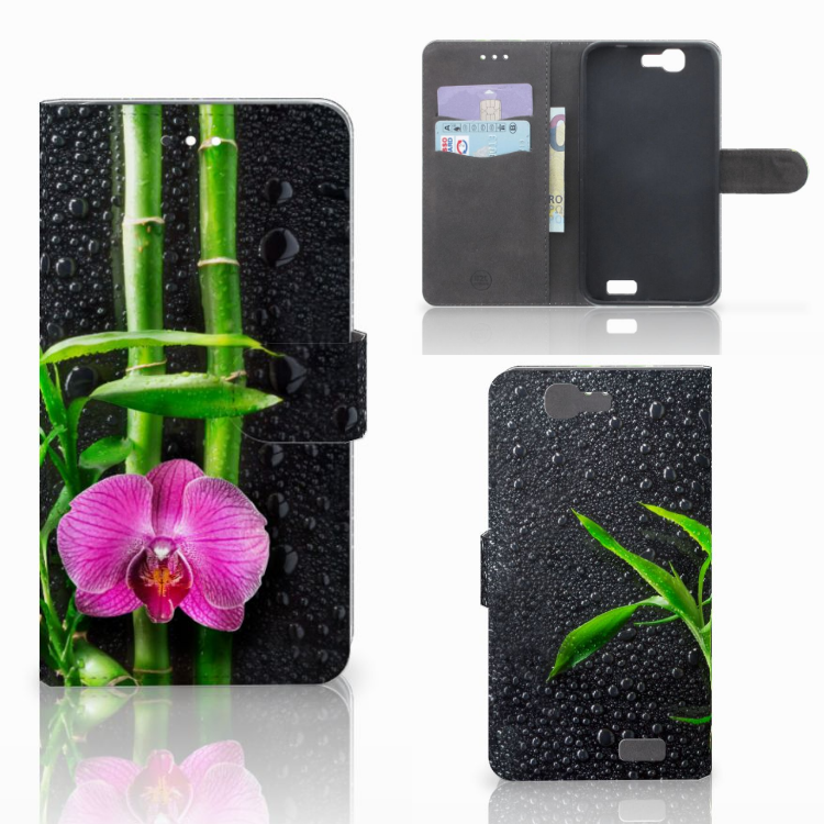 Huawei Ascend G7 Hoesje Orchidee