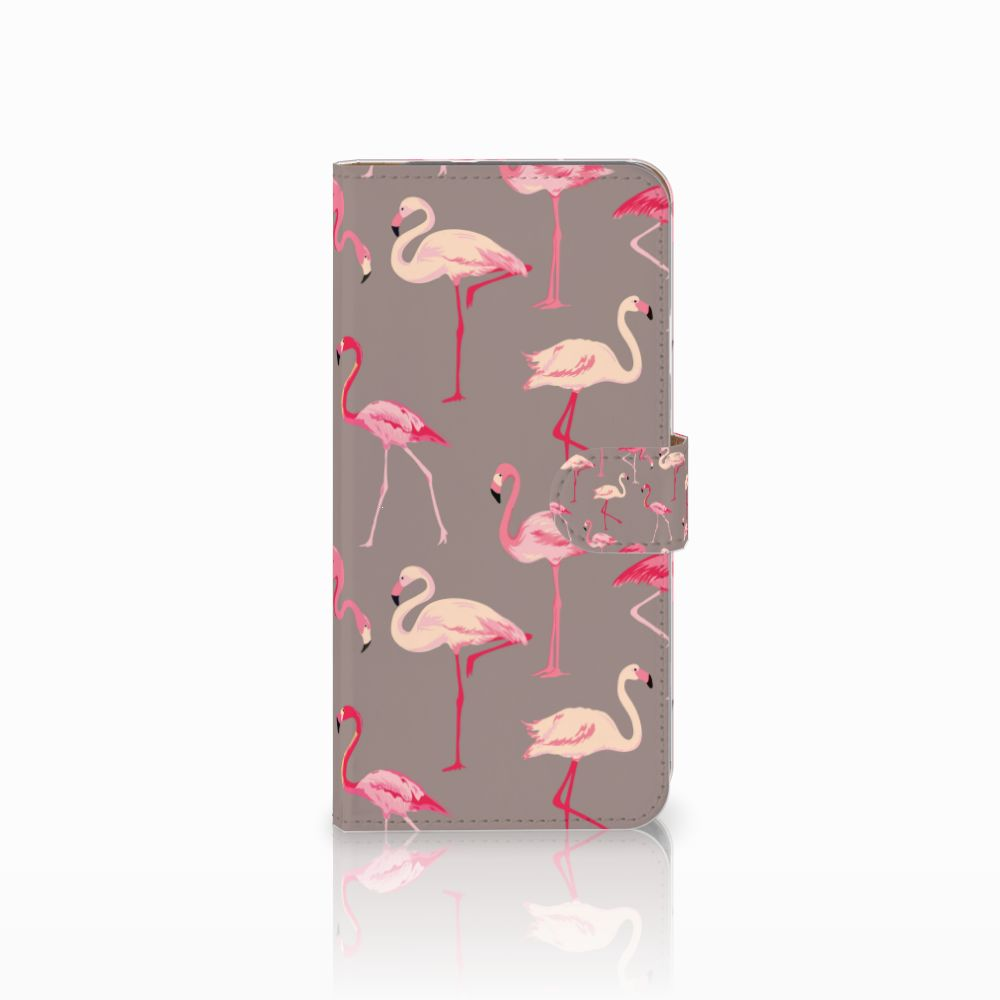 Google Pixel XL Uniek Boekhoesje Flamingo