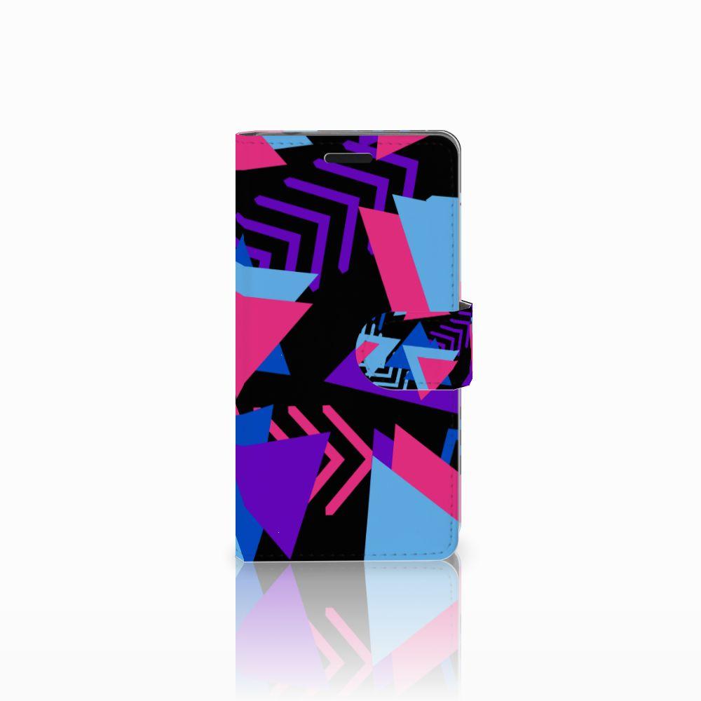 Sony Xperia E3 Bookcase Funky Triangle