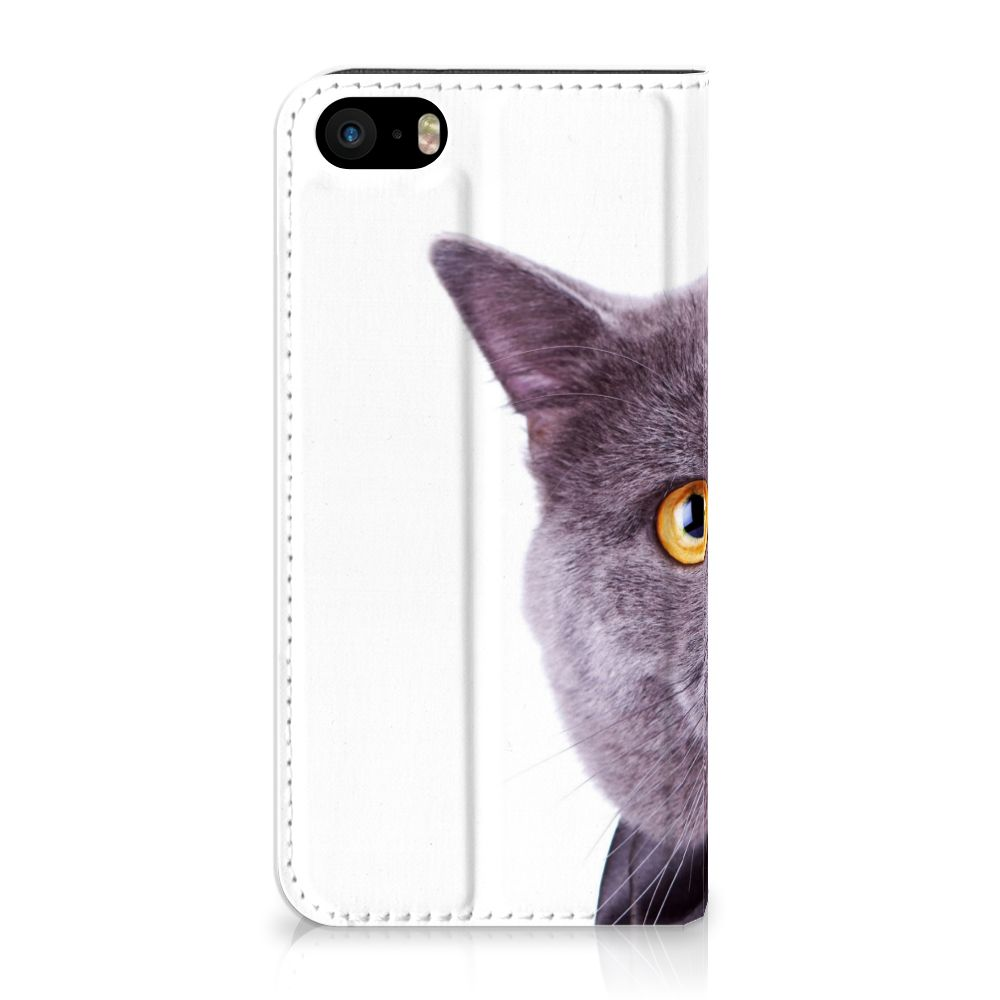 iPhone SE 5S 5 Hoesje maken Kat