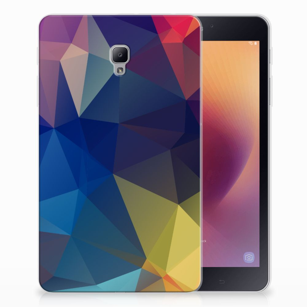 Samsung Galaxy Tab A 8.0 (2017) Back Cover Polygon Dark