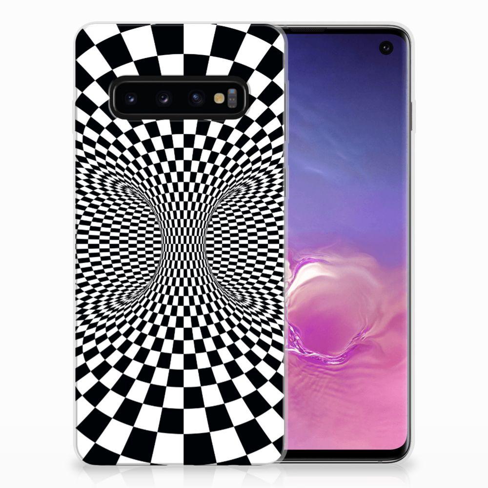 Samsung Galaxy S10 TPU Hoesje Illusie