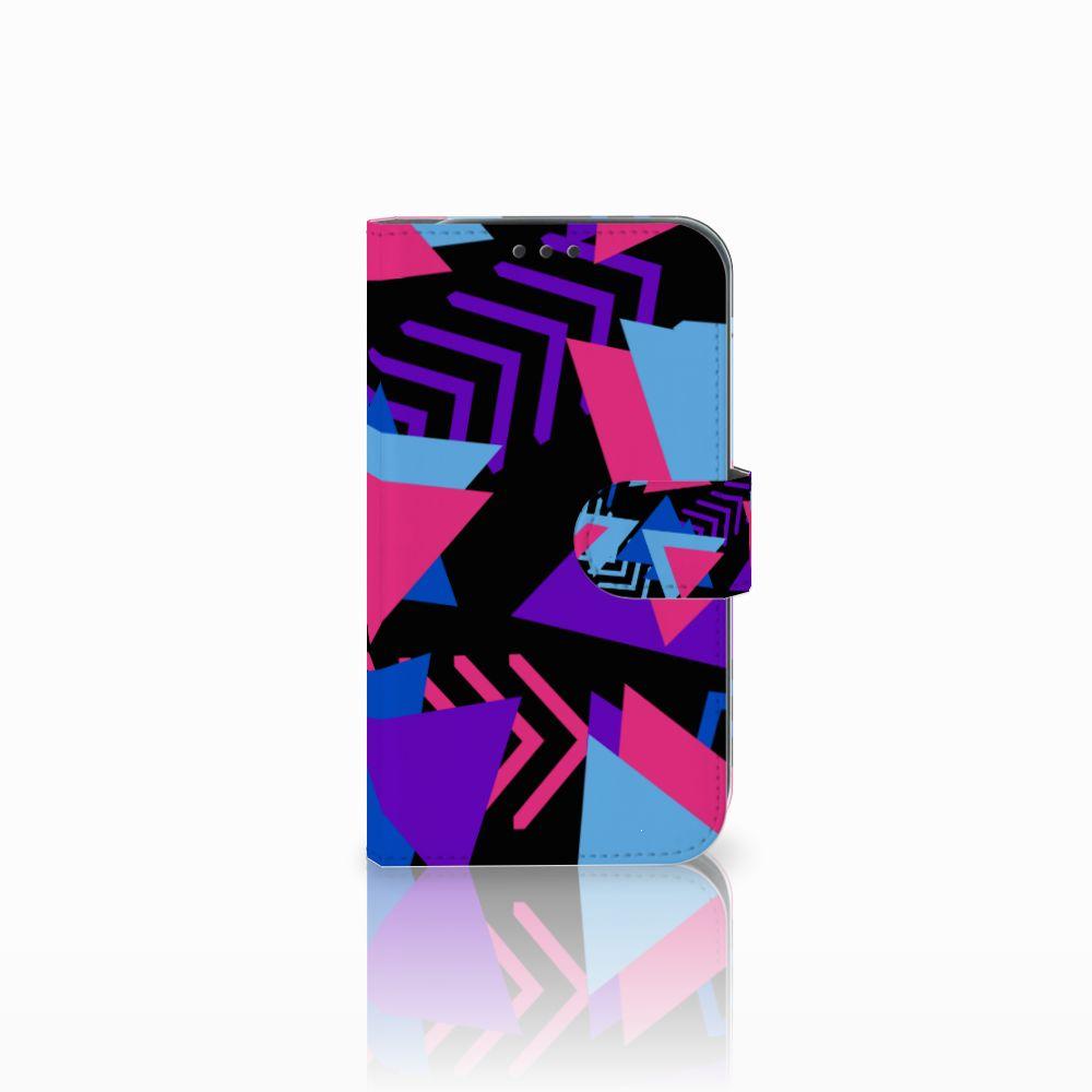 Samsung Galaxy Xcover 4 Boekhoesje Design Funky Triangle