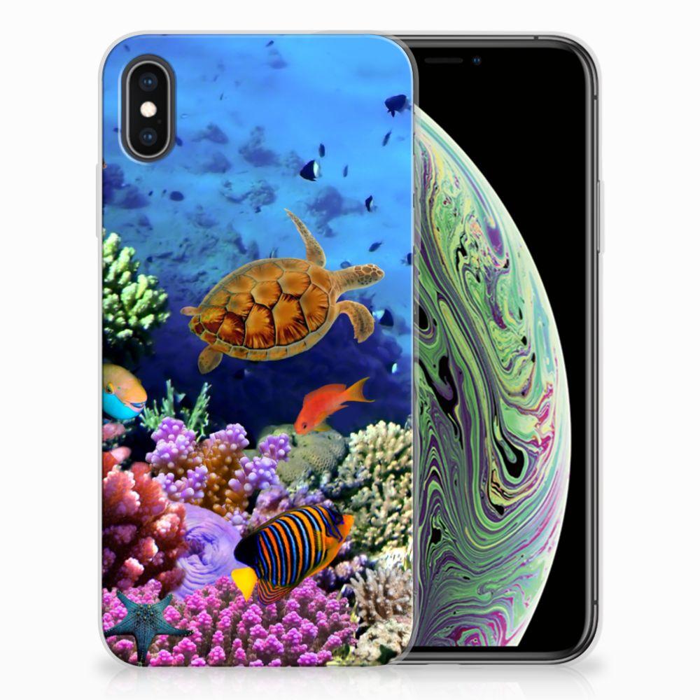 Apple iPhone Xs Max TPU Hoesje Vissen