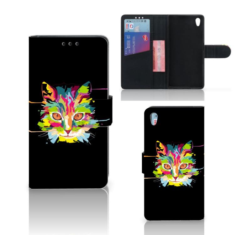 Sony Xperia Z5 | Z5 Dual Leuke Hoesje Cat Color