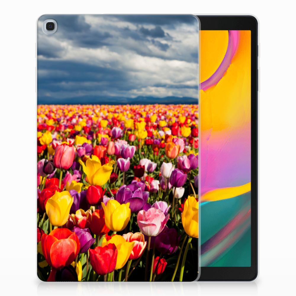 Samsung Galaxy Tab A 10.1 (2019) Uniek Tablethoesje Tulpen