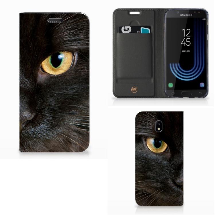 Samsung Galaxy J5 2017 Hoesje maken Zwarte Kat