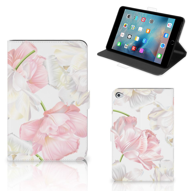 Apple iPad Mini 5 Tablet Cover Lovely Flowers