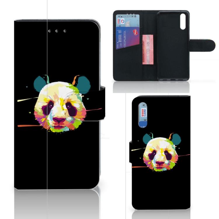 Huawei P20 Leuke Hoesje Panda Color