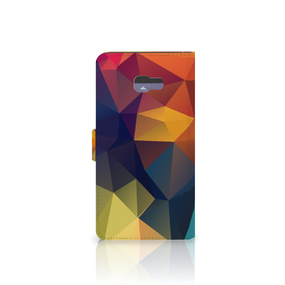 Samsung Galaxy A7 2017 Bookcase Polygon Color