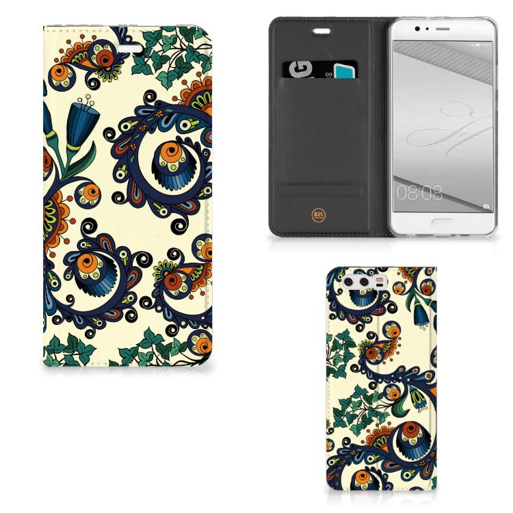 Telefoon Hoesje Huawei P10 Plus Barok Flower