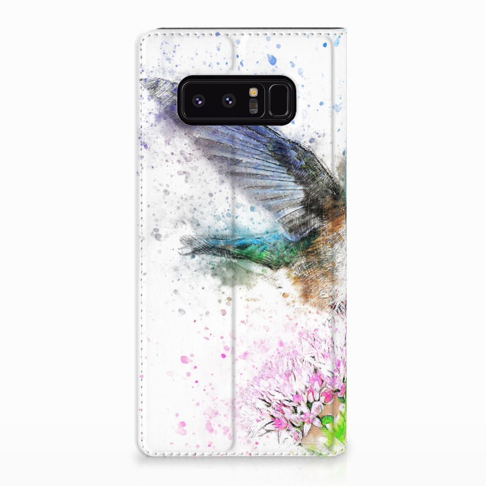 Samsung Galaxy Note 8 Standcase Hoesje Design Vogel