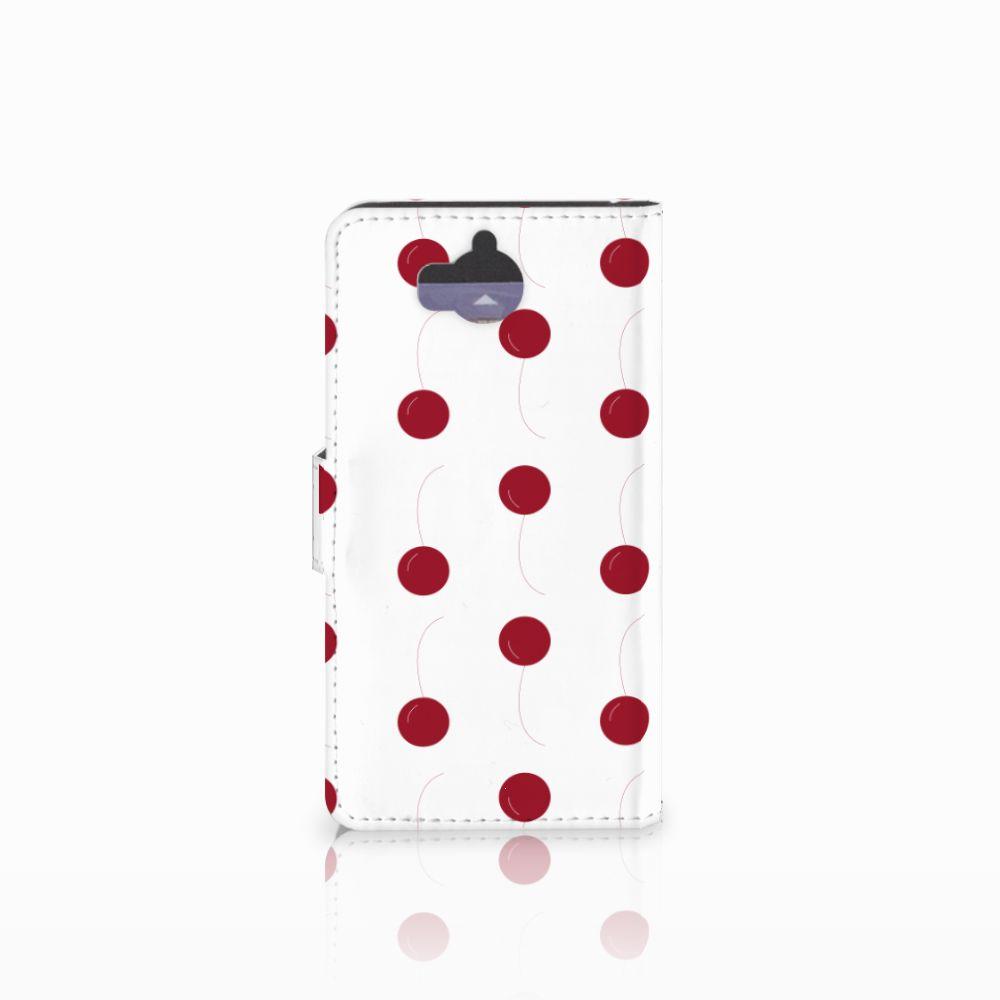 Huawei Y5 | Y6 2017 Book Cover Cherries